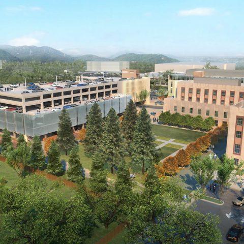 Hoover Pavilion – Parking Structure & Site Development