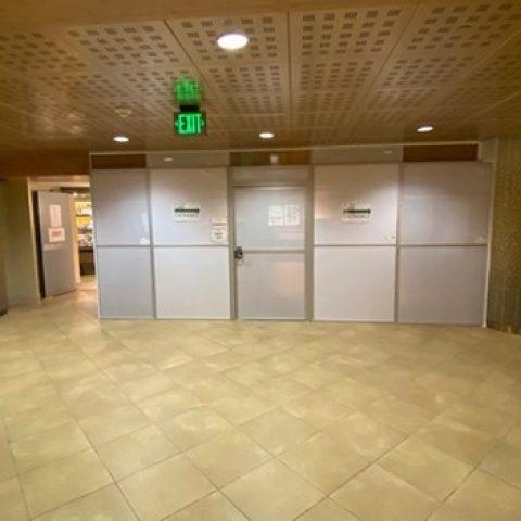 Cafeteria Door Modifications
